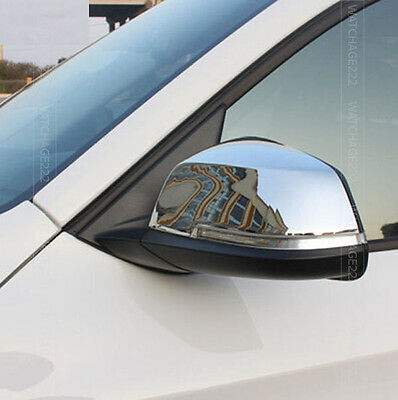 Fit For Bmw X1 E84 Facelift 2012-2015 Chrome Side Mirror Cover Trim Cap Overlay