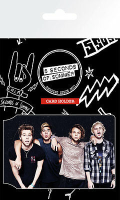 5 Seconds of Summer - Band - Card Holder - CH0311 - Brand New