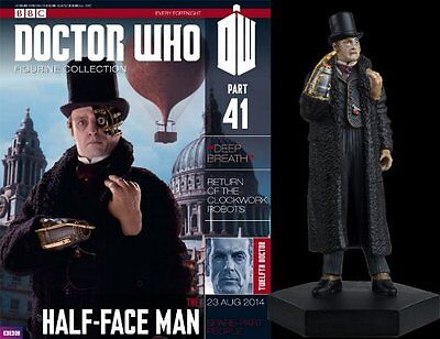 Doctor Who Figurine Collection #Part 41 HALF-FACE MAN #G5