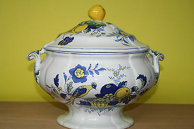 Suppenterrine ca. 4 ltr. Spode Blue Bird