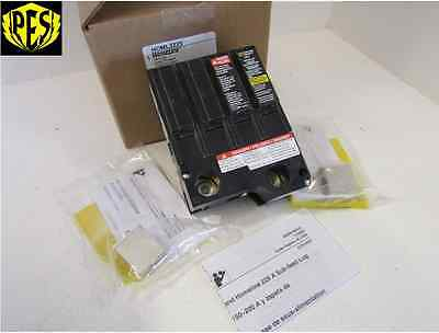 New Square D Homl2225 2 Pole 225 Amp Sub-Feed Lug Kit 4 Spaces Homl2200