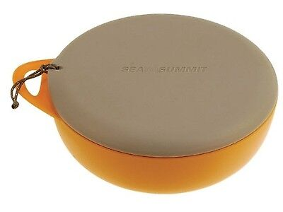 Sea To Summit Camping Delta Bowl With Lid (Orange/grey)