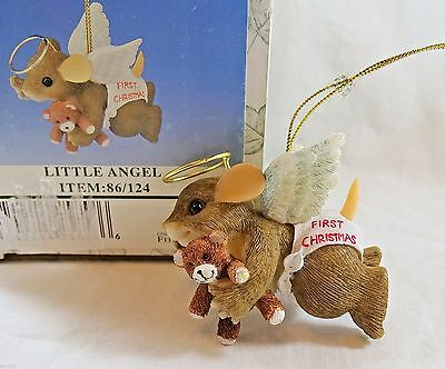 Charming Tails Ornament Little Angel