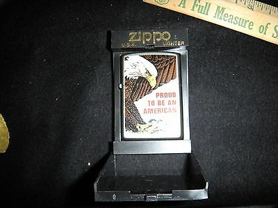 zippo,military,U.S Air Force,usaf,high polish,chrome,lighter,787,new in box,nr