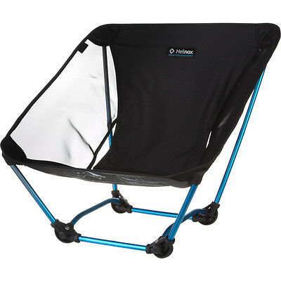 Helinox Ground Chair Black Lightweight Collapsible Motorcycle Camping Biker Seat