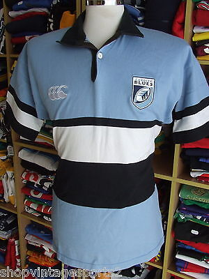 Rugby Shirt Cardiff Blues 2006/07 (M) Home Wales Canterbury Jersey Maillot