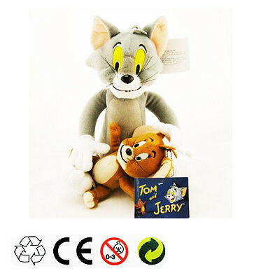 Tom and Jerry Plush Doll Soft Cute Stuffed Cartoon Toy Anime Cat & Mouse