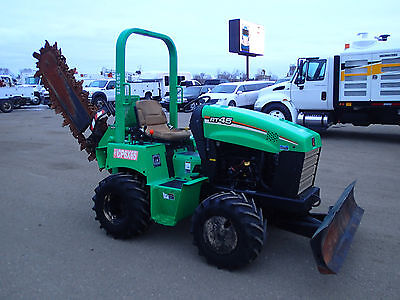 2012 Ditch Witch Rt45 Trencher
