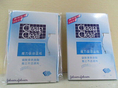 New Clean And Clear Blotting Oil Control Absorbing Facial Paper Wipe 60 Sheets