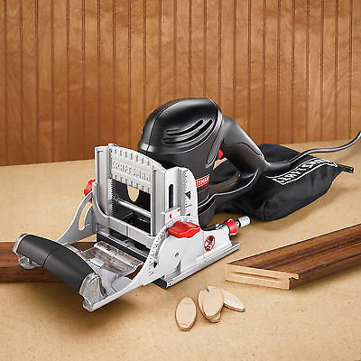 Craftsman 17539 6 amp Corded Plate Jointer Free Shipping New