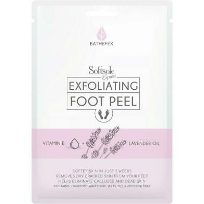 Softsole Express Exfoliating Foot Peel  - Same As Milky Foot - 1 Pair Brand New