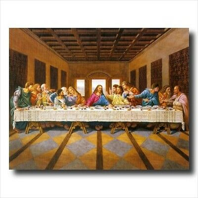 Jesus Christ The Last Supper Wall Picture Art Print