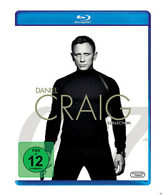Daniel Craig Collection: James Bond - (Blu-ray)