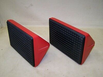 DDR Lautsprecher Kult Retro Design Boxen Space Age mid century rot