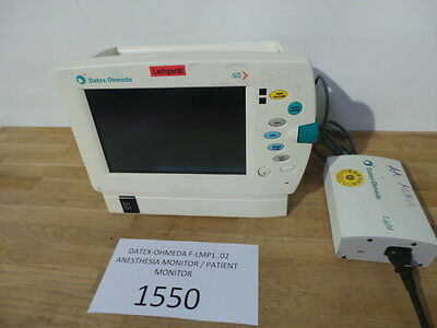 Datex-Ohmeda F-Lmp1..02 Anesthesia Monitor / Patient Monitor