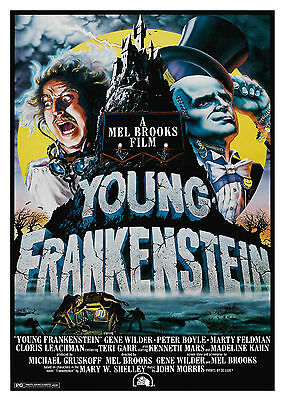 Young Frankenstein (1974) - A1/A2 POSTER **BUY ANY 2 AND GET 1 FREE OFFER**