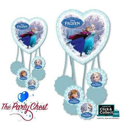 DISNEY FROZEN Party Pinata with PULLS Anna and Elsa Frozen Party 999271