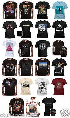 OFFICIAL Pink Floyd T Shirt Dark Side of The Moon Tour Wish you were here Wall