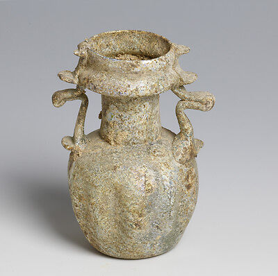Roman twin-handled sprinkler jar.