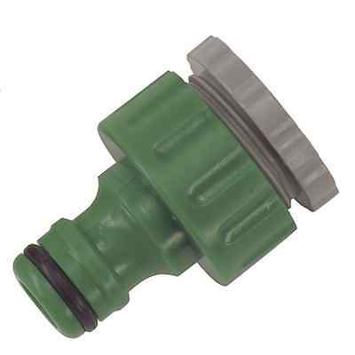 Water Tap Hose Connector 3/4 u0026 1/2 Threaded Tap Connector Snap Action  sc 1 st  PicClick UK & WATER TAP HOSE Connector 3/4 u0026 1/2 Threaded Tap Connector Snap ...
