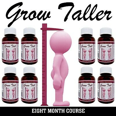 """Bone Growth Treatment """"BE TALLER"""" 8 Month course You Can Safely Gain Height....."""