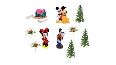 Kit TOPPER decorazione per TORTE e DOLCI walt Disney TOPOLINO & CO