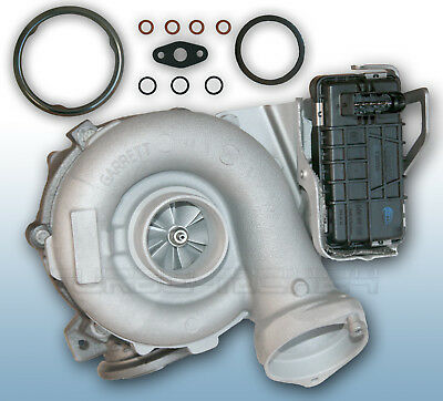 Turbolader BMW 525d 530d E60 E61 170Kw 173Kw 758351-5024S 7794260 m. Dichtung!