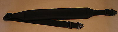 Allen Black Padded Rifle Shotgun Sling with Metal Quick Detach Swivels #All16893
