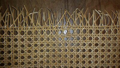 """Caning: Chair Cane Web (24"""" Width) Common Weave - Bleached/Natural"""