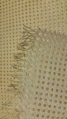 "Caning: Chair Cane Web (18"" Width) Common Weave - Bleached/Natural (BTF)"