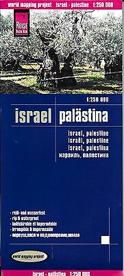 Map of Israel & Palestine, by Reise Know How - Middle East