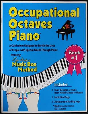 Occupational Octaves Piano Book Special Needs Learning Music & Rings Book 1