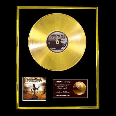 Avantasia The Scarecrow Cd Gold Disc Lp Free P+P!