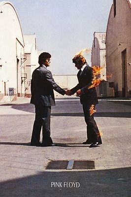 PINK FLOYD WISH YOU WERE HERE ALBUM COVER POSTER (61x91cm)  PICTURE PRINT NEW