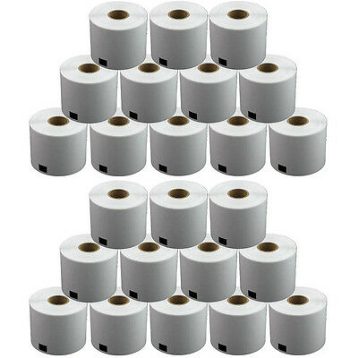24 REFILL ROLLS DK11202 BROTHER COMPATIBLE SHIPPING LABELS 62x100mm DK 11202
