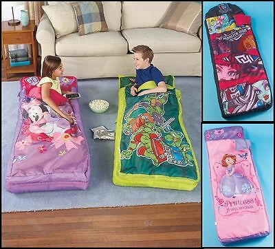 Inflatable Sleeping Bags Licensed Minnie Daisy Sofia the First Monster High TMNT