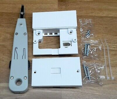 2016 Bt Openreach Type Master Telephone Socket Nte5 Nte 5A + Idc Punch Down Tool