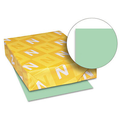 Exact Index Colored Card Stock, 110lb Green, Letter, 250 Sheets/Pack, PK - WAU49