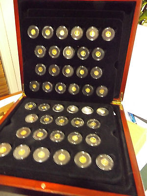 Worlds Smallest Gold Coin Collection, Tracked Postage Included