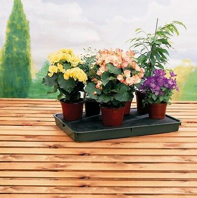 NEW 56cm x 40cm LARGE 8 LITRE PLASTIC SELF WATERING PLANT POT TRAY KIT