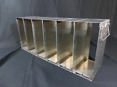 Laboratory Stainless Steel Upright Freezer Rack 96 384-Well Microtiter Plates B