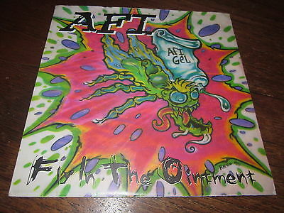 """Afi Fly In The Ointment Rare Gold Vinyl 45 A Fire Inside 7"""" Punk"""