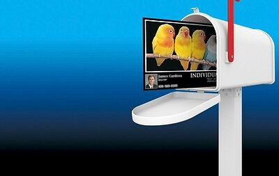 """250 Full Color 2 Sided REAL PRINTING 5""""x7"""" Postcards 16pt with UV lamination"""