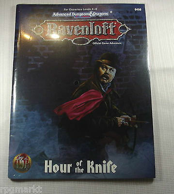 AD&D - RAVENLOFT - Hour of the Knife -OVP-  -Shrink-