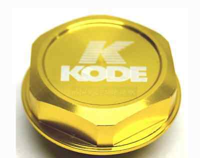 Kode-GOLD TRD JDM Oil Filler Cap Aluminium for Toyota Celica MR2 Altezza Caldina