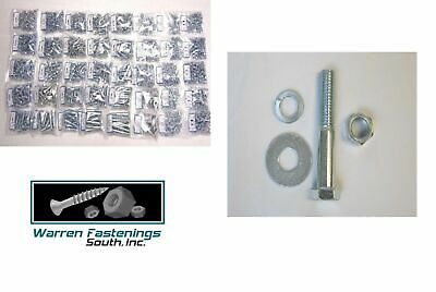5240 Pcs Grade 5 Coarse Thread Bolt Nut & Washer Assortment Kit