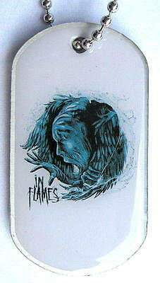 """In Flames Dog Tag """"siren Charms"""" - Necklace - Hundemarke - Halskette"""