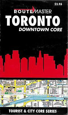 Map of Toronto, Downtown, Canada, by RouteMaster Maps