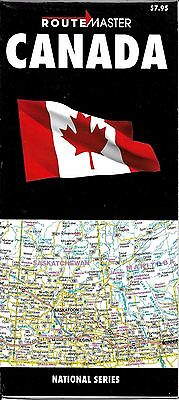 Map of Canada, by RouteMaster Map