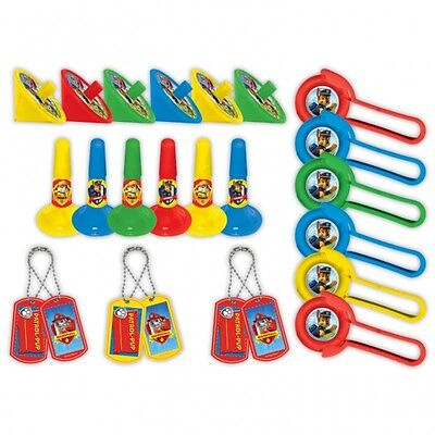 24 x PAW PATROL BIRTHDAY PARTY FAVOR / FAVOUR LOOT BAG FILLER TOYS